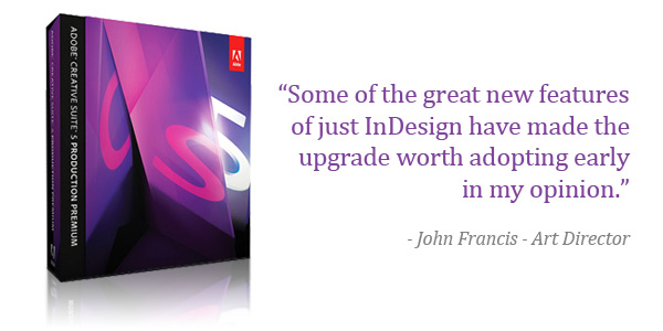 Universal Printing reviews Adobe CS5