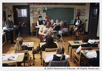 School of Rock promo pic